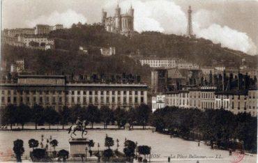 1910 Lyon place bellecour histoire de lyon