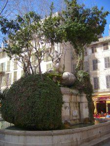 Fontaine du 18éme siècle, histoire de Toulon