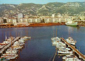 Port de Toulon en 1970, histoire de Toulon