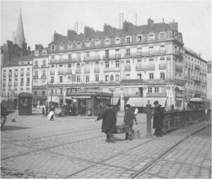 Place du commerce 1910